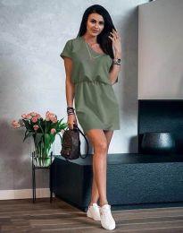 Φόρεμα - κώδ. 3214 - λαδί