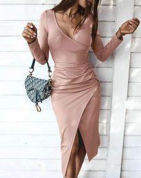 Φόρεμα - κώδ. 4769 - πούδρα