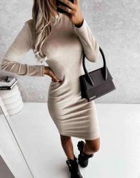 Φόρεμα - κώδ. 9368 - μπεζ