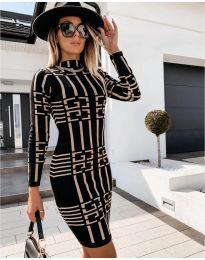 Φόρεμα - κώδ. 0258 - μαύρο