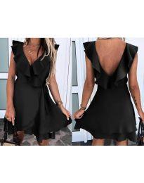 Φόρεμα - κώδ. 7799 - μαύρο