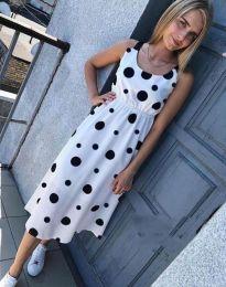 Φόρεμα - κώδ. 8122 - 1 - λευκό