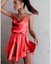Φόρεμα - κώδ. 660 - κόκκινο