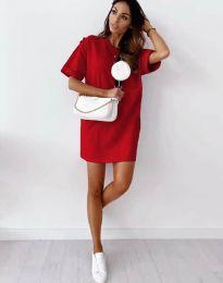 Φόρεμα - κώδ. 2231 - κόκκινο