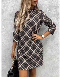 Φόρεμα - κώδ. 9187 - 1 - πολύχρωμο
