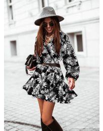 Φόρεμα - κώδ. 134 - 2 - πολύχρωμο