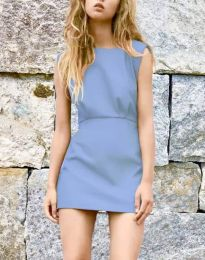 Φόρεμα - κώδ. 1233 - γαλάζιο