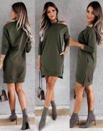 Φόρεμα - κώδ. 8858 - λαδί