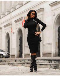 Φόρεμα - κώδ. 7099 - 1 - μαύρο