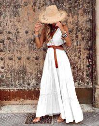 Φόρεμα - κώδ. 0817 - λευκό