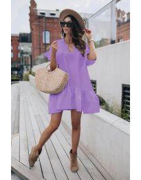 Φόρεμα - κώδ. 6868 - μωβ