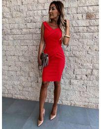 Φόρεμα - κώδ. 1104 - κόκκινο