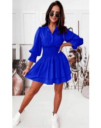 Φόρεμα - κώδ. 1843 - μπλε