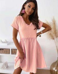 Φόρεμα - κώδ. 1679 - 2 - ροζ