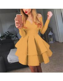 Φόρεμα - κώδ. 228 - μουσταρδί