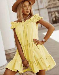 Φόρεμα - κώδ. 6969 - κίτρινο