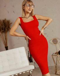 Φόρεμα - κώδ. 5965 - κόκκινο