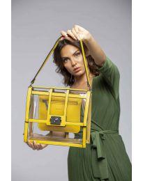 Τσάντα - κώδ. LS543 - κίτρινο