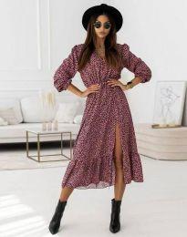 Φόρεμα - κώδ. 0836 - μωβ