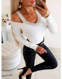 Μπλούζα - κώδ. 3488 - λευκό