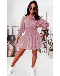 Φόρεμα - κώδ. 1843 - ροζ