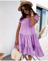 Φόρεμα - κώδ. 805 - μωβ