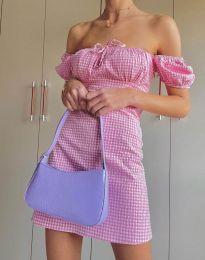 Φόρεμα - κώδ. 2594 - 1 - ροζ