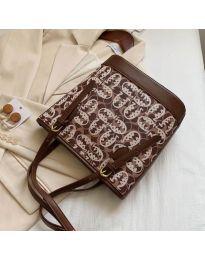 Τσάντα - κώδ. B32/5049 - καφέ
