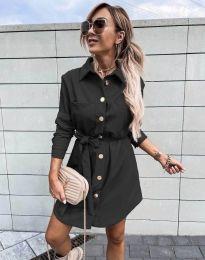 Φόρεμα - κώδ. 2186 - μαύρο