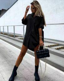 Φόρεμα - κώδ. 7589 - μαύρο