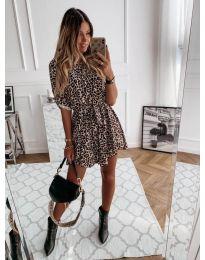 Φόρεμα - κώδ. 841 - 1 - πολύχρωμο