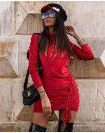 Φόρεμα - κώδ. 9545 - κόκκινο