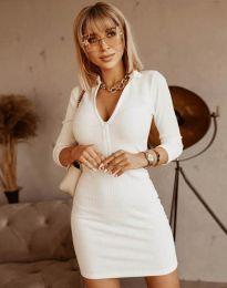 Φόρεμα - κώδ. 11643 - λευκό