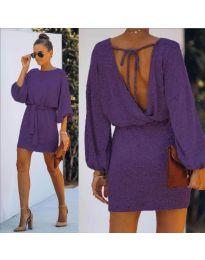 Φόρεμα - κώδ. 940 - μωβ