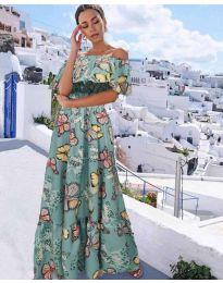 Φόρεμα - κώδ. 8582 - πράσινο