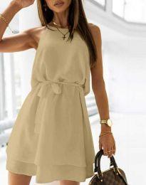 Φόρεμα - κώδ. 9968 - μπεζ