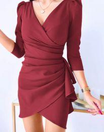 Φόρεμα - κώδ. 32897 - κόκκινο