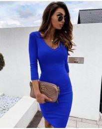 Φόρεμα - κώδ. 4040 - μπλε