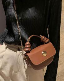Τσάντα - κώδ. B417 - καφέ