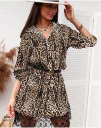 Φόρεμα - κώδ. 3635 - 8 - πολύχρωμο