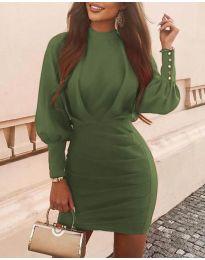 Φόρεμα - κώδ. 4016 - χακί