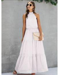 Φόρεμα - κώδ. 8855 - λευκό
