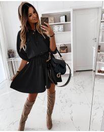 Φόρεμα - κώδ. 8586 - μαύρο