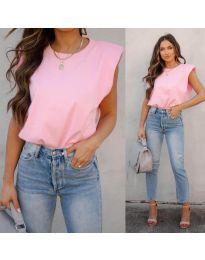 Κοντομάνικο μπλουζάκι - κώδ. 2324 - ροζ