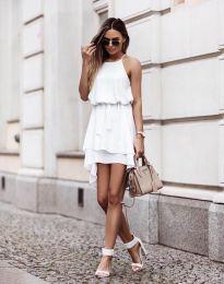 Φόρεμα - κώδ. 2104 - λευκό