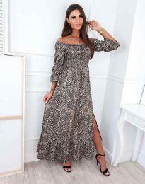 Φόρεμα - κώδ. 6319 - πολύχρωμο