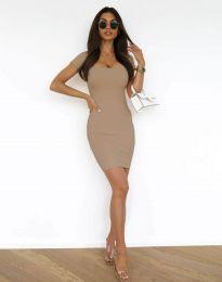 Φόρεμα - κώδ. 0988 - καπουτσίνο