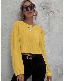 Μπλούζα - κώδ. 5932 - κίτρινο