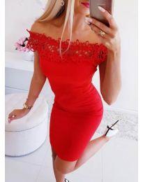 Φόρεμα - κώδ. 3105 - κόκκινο