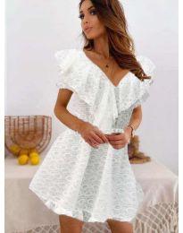 Φόρεμα - κώδ. 519 - λευκό